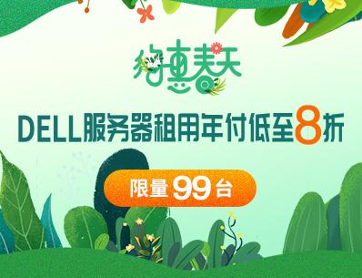 亿恩DELL服务器租用年付低至8折