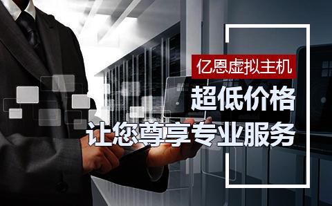 亿恩虚拟主机低价格享受专业服务。