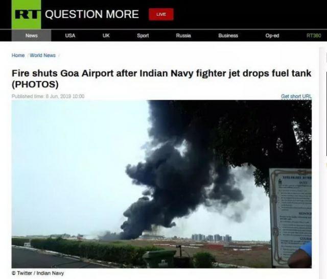 印度战机油箱掉落不算什么 看看2019印度战机坠落数量有多少
