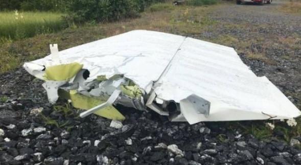 瑞典飞机坠毁 目击者还以为是飞机在表演特技飞行