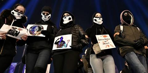 """法国44名警察自杀 警察工会:自杀背后?#23567;?#22810;重原因"""""""