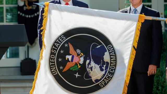 美国太空司令部成立 特朗普称捍卫美国在太空中的利益