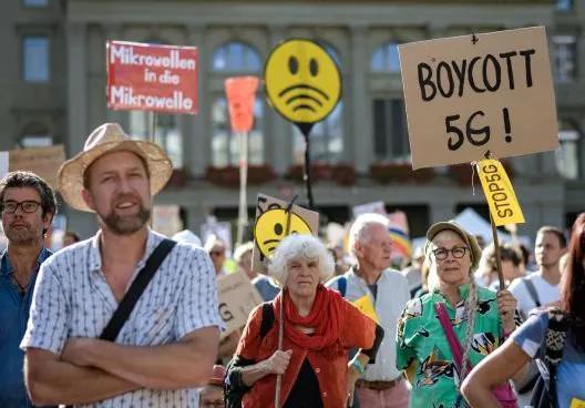 瑞士民众抵制5G 指控当局和电信业大胆地向民众撒谎