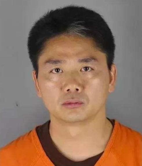 刘强东被植入电影 其拘留照