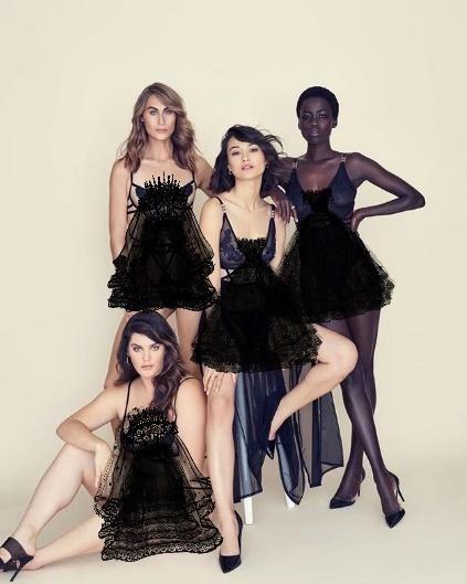 维密签约大码模特 她的胳膊和其他模特的小腿一般粗